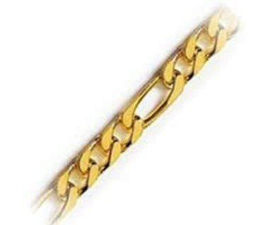 Chaine pour médaillon plaqué or