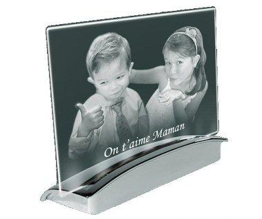 gravure photo laser sur plaque