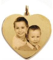 Médaille Coeur Plaqué or LOVE.
